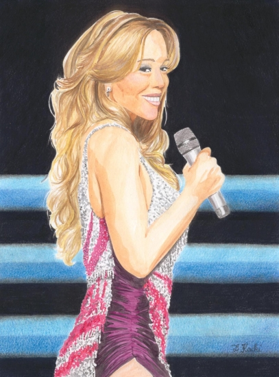 Mariah Carey par DelphineK